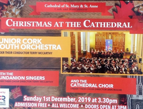 Christmas Concert at The Cathedral on Sunday December 1st