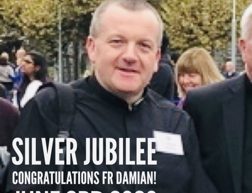 """Our"" Fr Damian celebrates the Silver Jubilee of his Ordination"